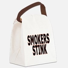 Smokers stink - Canvas Lunch Bag