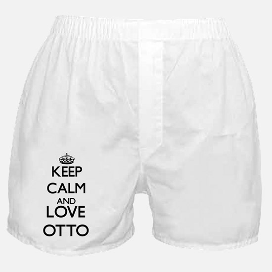 Keep calm and love Otto Boxer Shorts