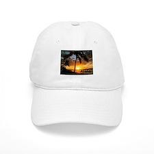 Aloha Sunset Baseball Baseball Cap