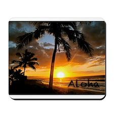 Aloha Sunset Mousepad