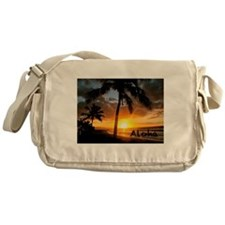 Aloha Sunset Messenger Bag