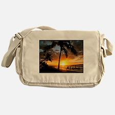 Aloha Sunset Messenger Bag