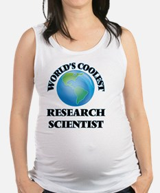 Research Scientist Maternity Tank Top