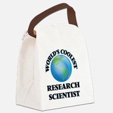Research Scientist Canvas Lunch Bag