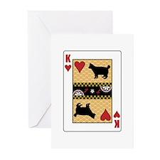 King Bobtail Greeting Cards (Pk of 10)