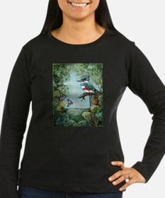 """KINGFISHER'S GROVE"" Long Sleeve T-Shirt"