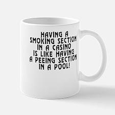 Smoking section...casino - Mug