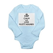 Keep calm and love Plott Hounds Body Suit