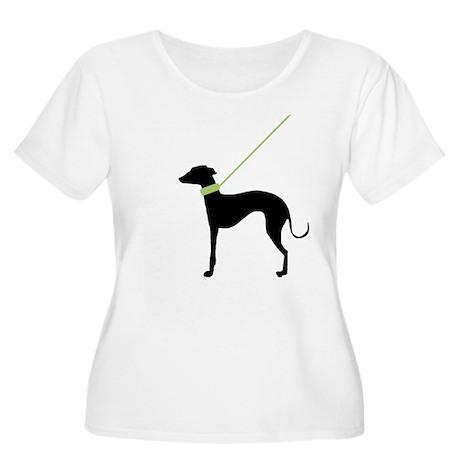 Black Dog Women's Plus Size Scoop Neck T-Shirt