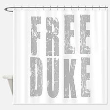 Free Duke Gray Shower Curtain