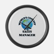 Sales Manager Large Wall Clock