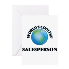 Salesperson Greeting Cards