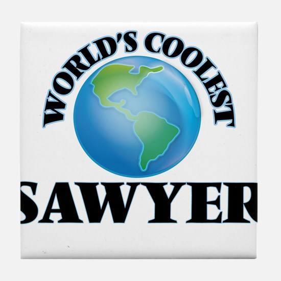 Sawyer Tile Coaster