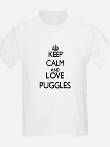 Keep calm and love Puggles T-Shirt