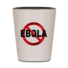 Stop Ebola Shot Glass