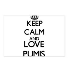 Keep calm and love Pumis Postcards (Package of 8)