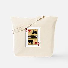 King Burmese Tote Bag