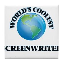 Screenwriter Tile Coaster