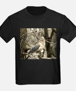 Peace Dove Ash Grey T-Shirt
