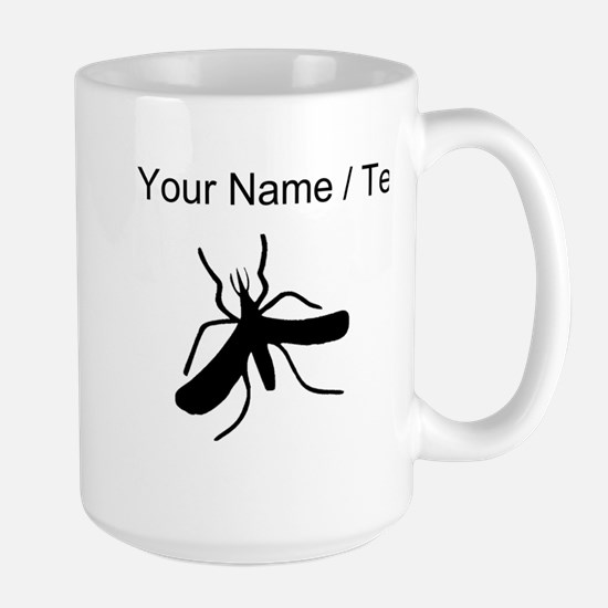 Custom Mosquito Silhouette Mugs