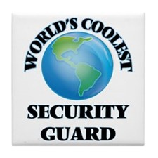 Security Guard Tile Coaster