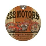 Motorcycle Ornaments
