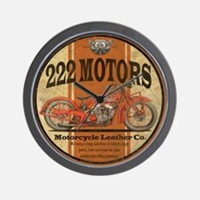 222 motors indian Wall Clock