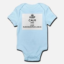 Keep calm and love Russo-European Laikas Body Suit