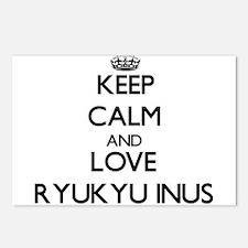 Keep calm and love Ryukyu Postcards (Package of 8)