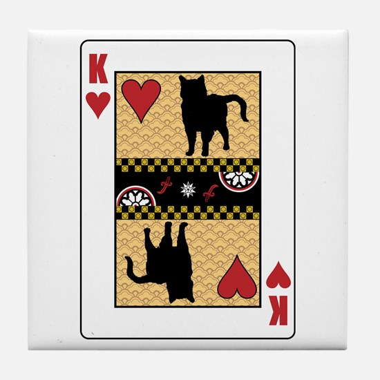 King Chartreux Tile Coaster