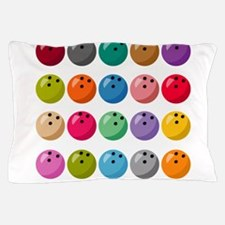 Many Bowling Balls Pillow Case