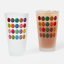 Many Bowling Balls Drinking Glass