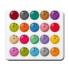 Many Bowling Balls Mousepad