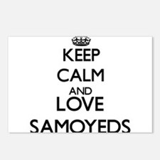 Keep calm and love Samoye Postcards (Package of 8)