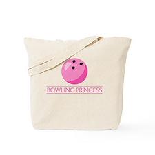 Bowling Princess Tote Bag