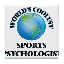 Sports Psychologist Tile Coaster
