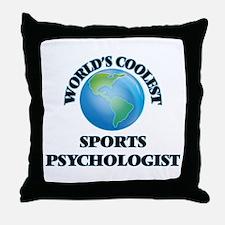 Sports Psychologist Throw Pillow