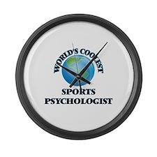 Sports Psychologist Large Wall Clock