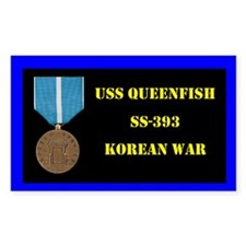 USS Queenfish Decal