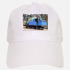 Goldfields blue steam locomotive, Victoria, Au Baseball Baseball Cap