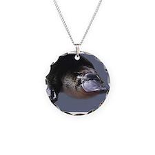 platypus Necklace Circle Charm