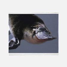 platypus Throw Blanket