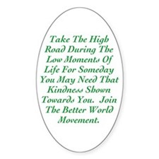 The High Road Decal
