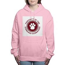 dg-standardschnauzer.png Women's Hooded Sweatshirt