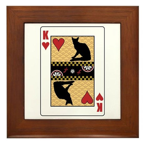 King Balinese Framed Tile