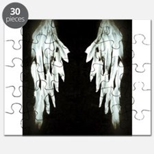 Glowing Angel Wings Puzzle