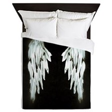 Glowing Angel Wings Queen Duvet