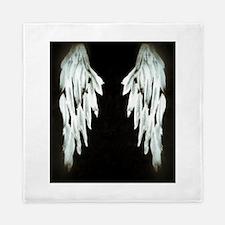 Glowing Angel Wings Queen Duvet