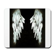 Glowing Angel Wings Mousepad