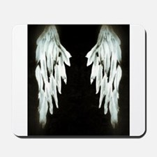 Glowing Angel Wings Mousepad